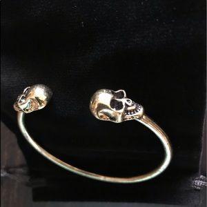 Jewelry - NEW Skull Bangle Bracelet Vintage